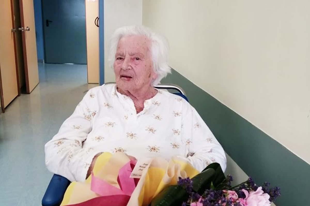 Barletta, donna dimessa per festeggiare 100 anni