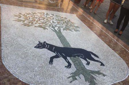 Mosaico della Lupa di Lecce