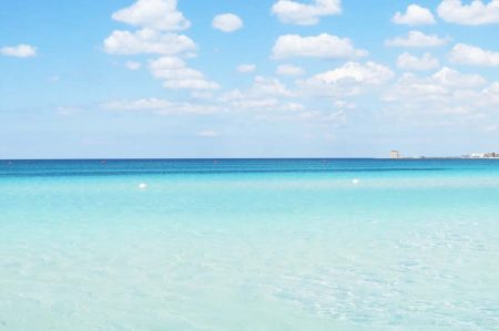 il mare della Puglia è eccellente