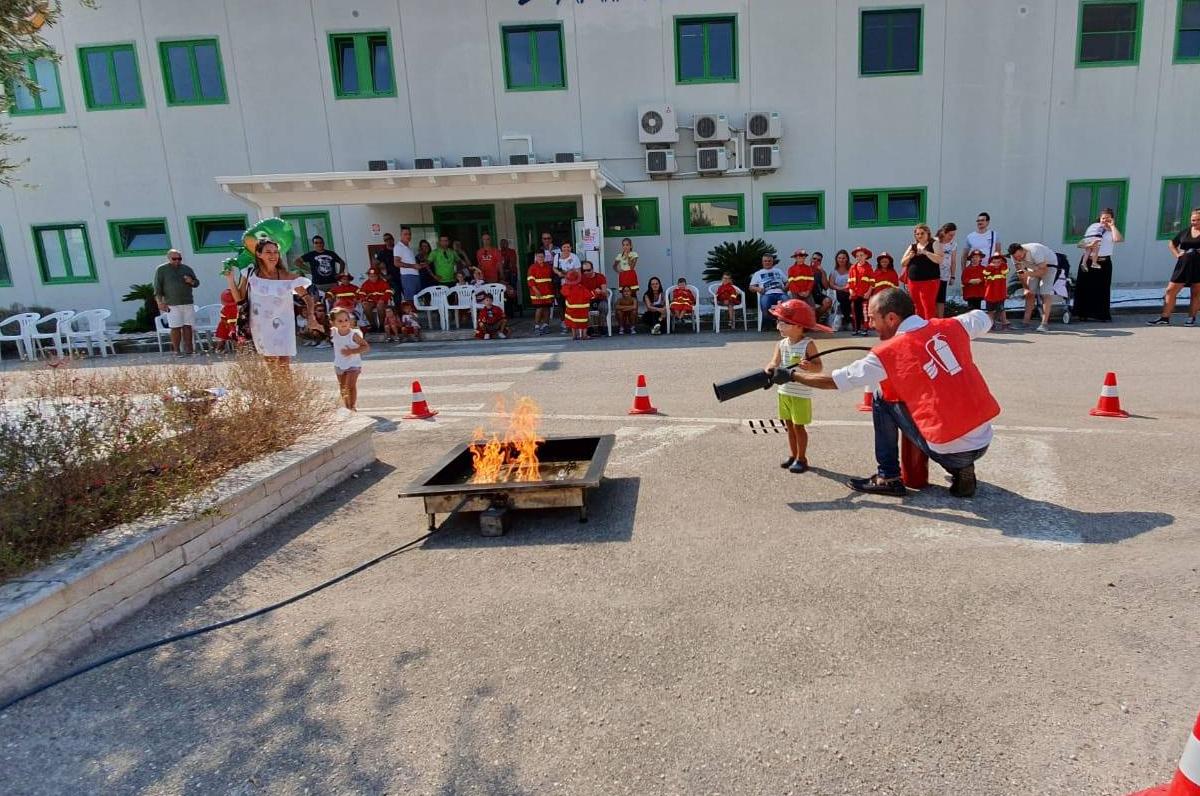 Pompieropoli, diventa pompiere per un giorno a Manfredonia