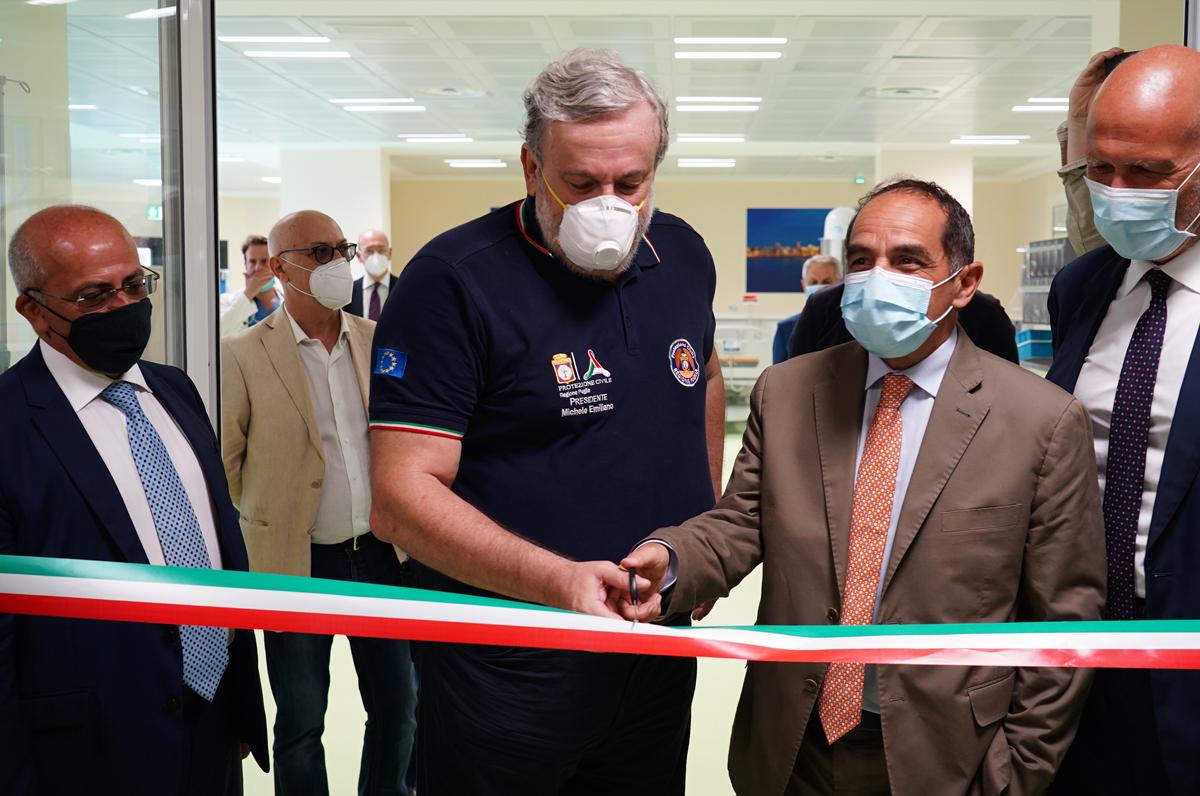 Nuovo reparto di Nefrologia del Policlinico di Bari