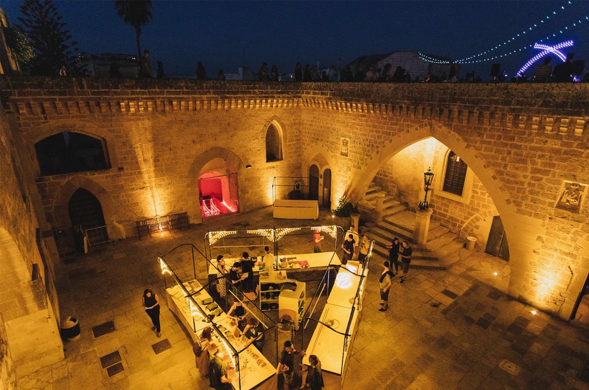 visite al castello di Corigliano d'Otranto
