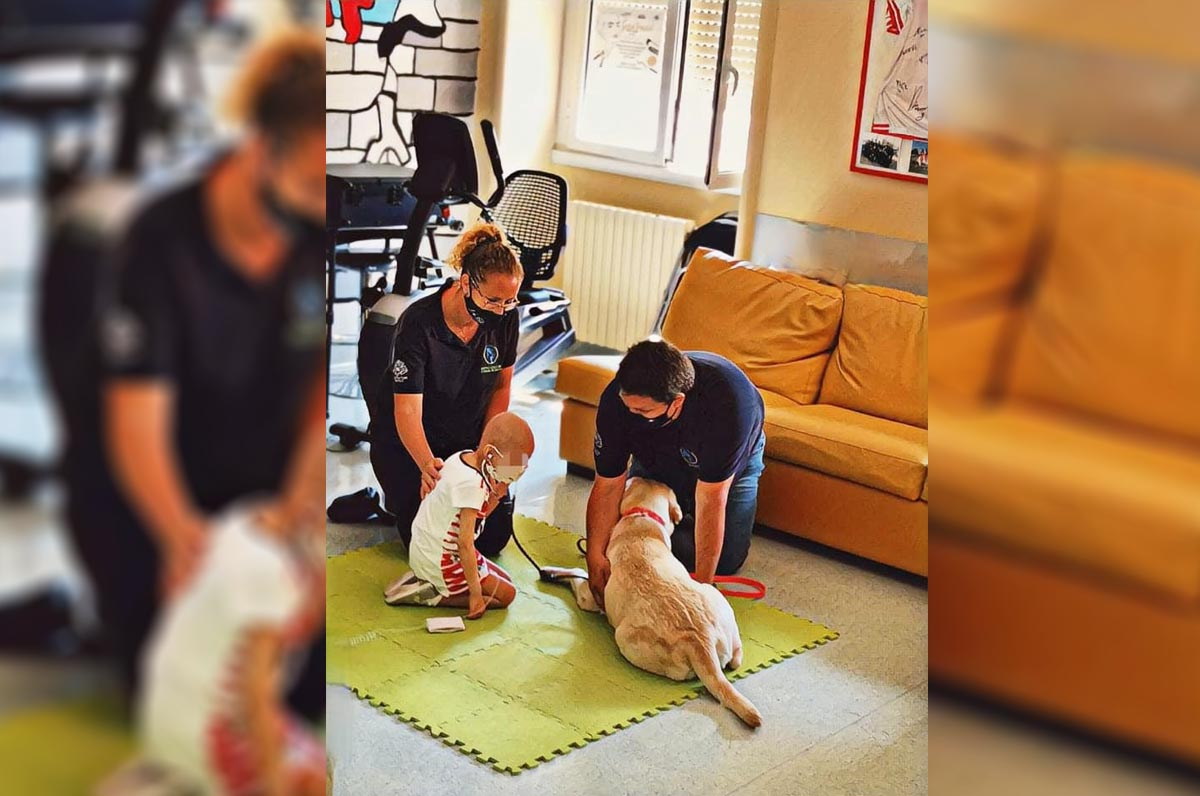 Bari, pet therapy per i piccoli di Oncoematologia Pediatrica