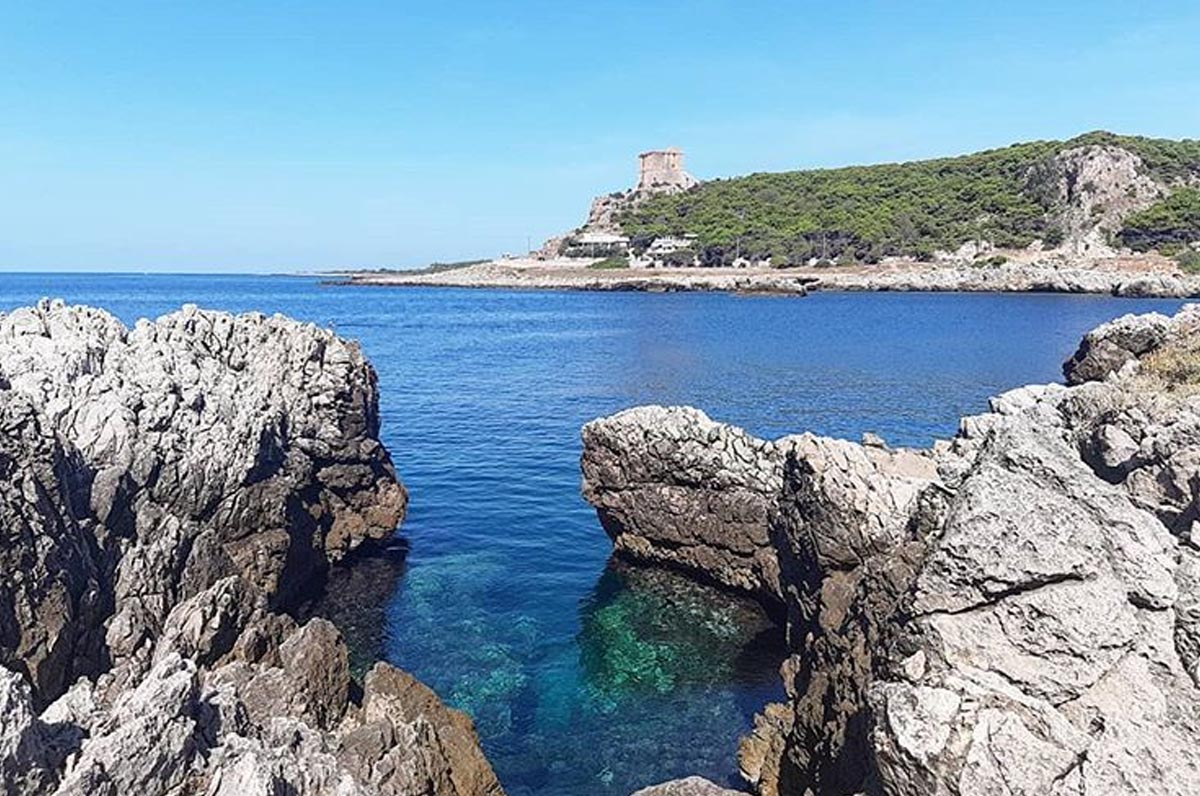 Torre Inserraglio, spiaggia e mare da favola vicino Nardò