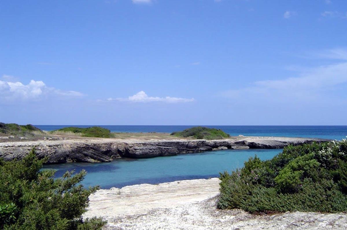 Torre Pozzelle, spiaggia e mare limpido vicino Ostuni