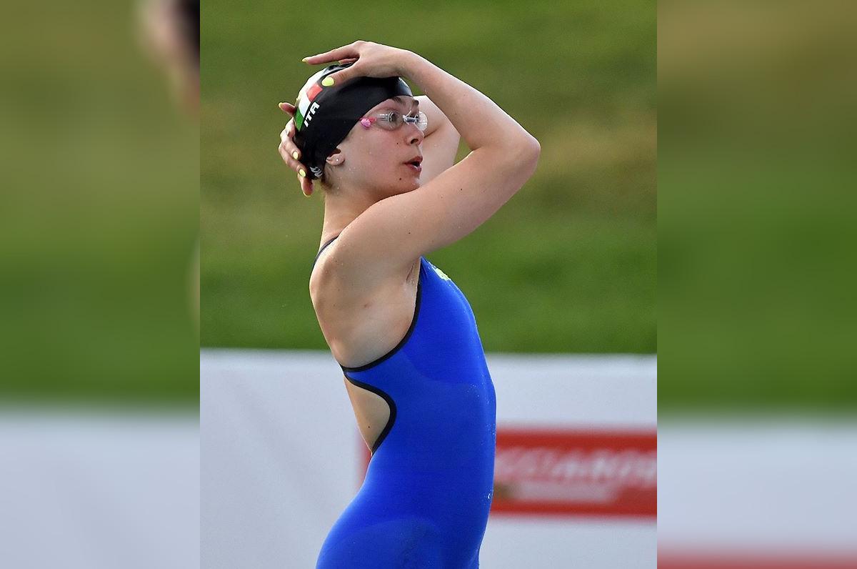 Benedetta Pilato, record italiano e mondiale juniores nei 50 rana