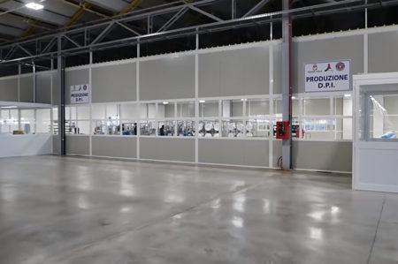 Fabbrica per la produzione DPI