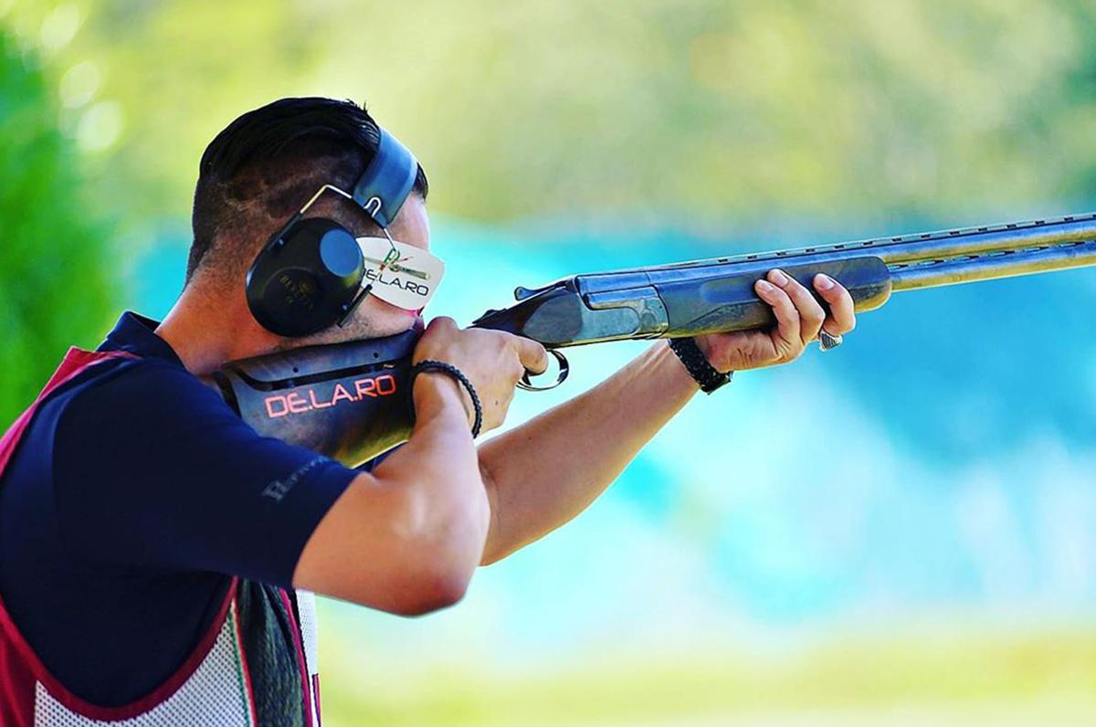 Guido Caputo, dal Salento alla medaglia d'oro nel tiro a piattello