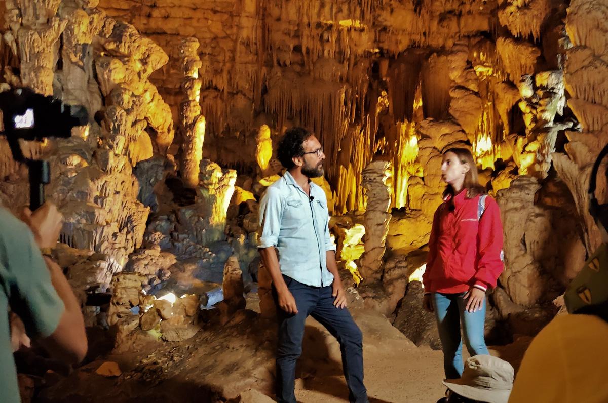 Grotte di Castellana, successo a Linea Verde Radici