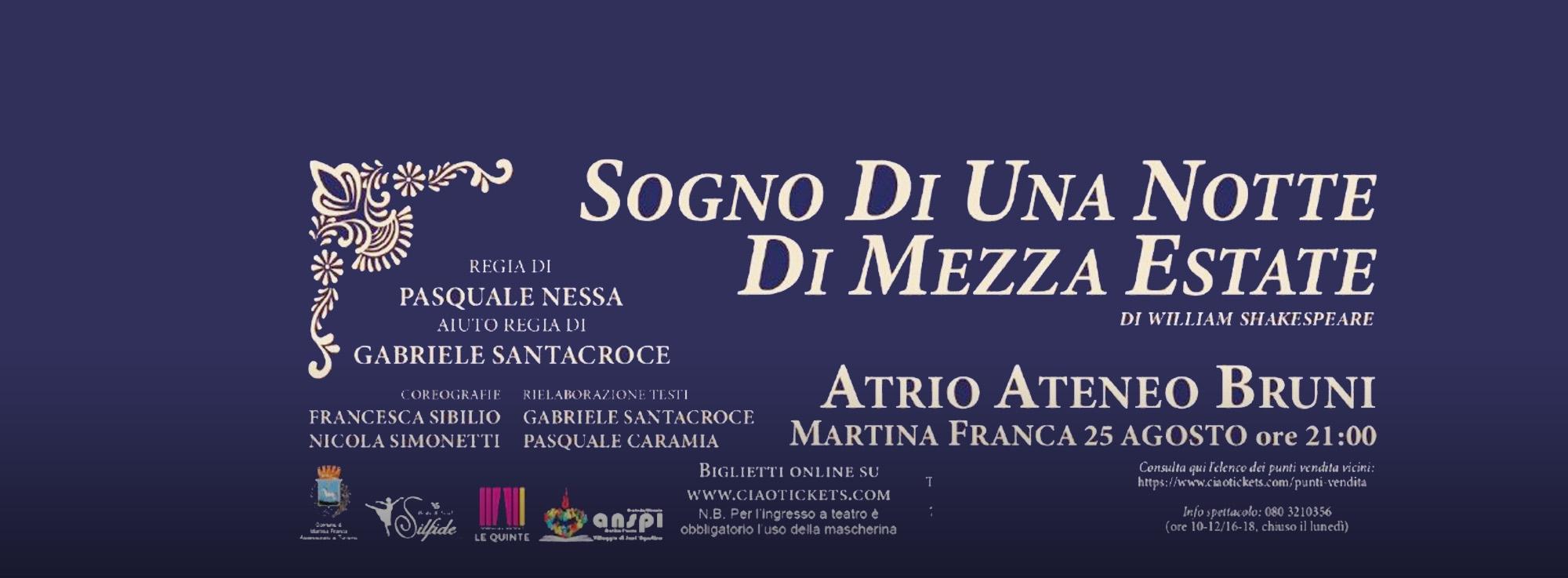 Martina Franca: Sogno di una notte di mezza estate