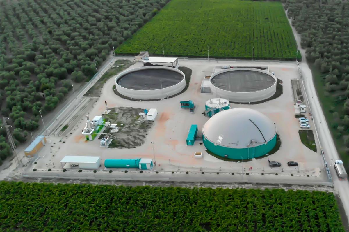 Andria, inaugurato il primo impianto biogas