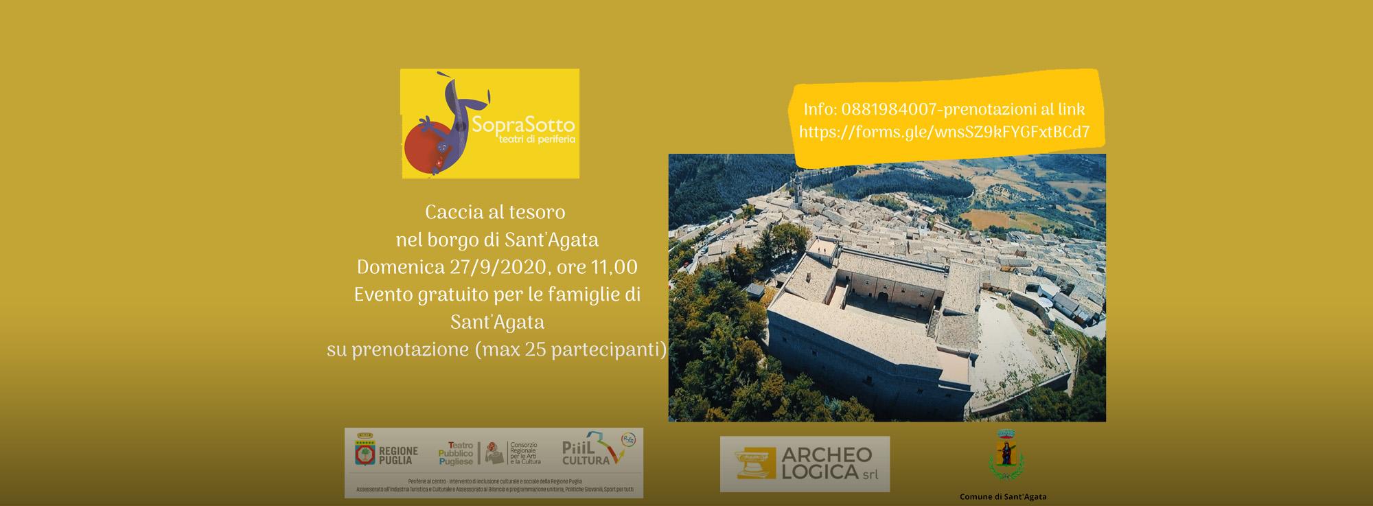 Sant'Agata in Puglia: Caccia al Tesoro per Sant'Agata in Puglia
