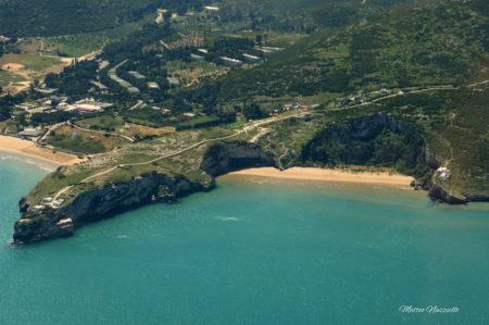 Spiaggia di Zaiana, baia compresa tra Vieste e Peschici