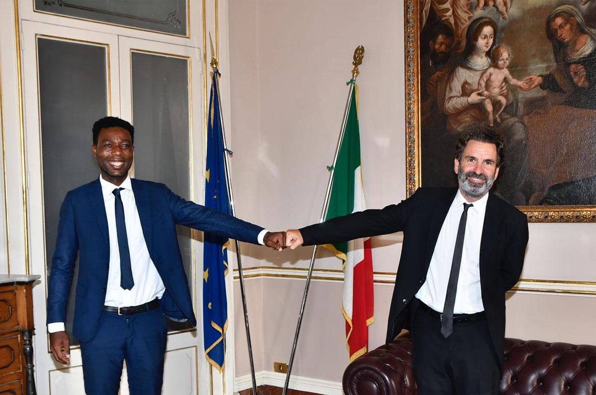 Yvan Sagnet cittadino onorario di Lecce