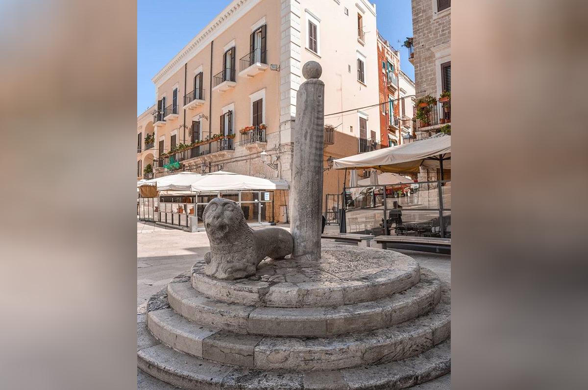 Colonna Infame di Bari, qual è la sua storia