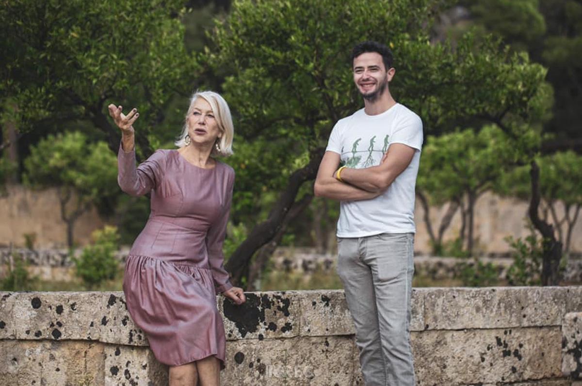 Helen Mirren dona compenso al Comune di Tiggiano