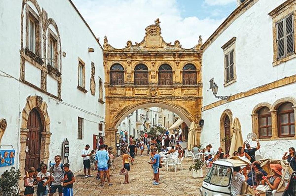 Arco Scoppa, chicca da vedere nel centro storico di Ostuni