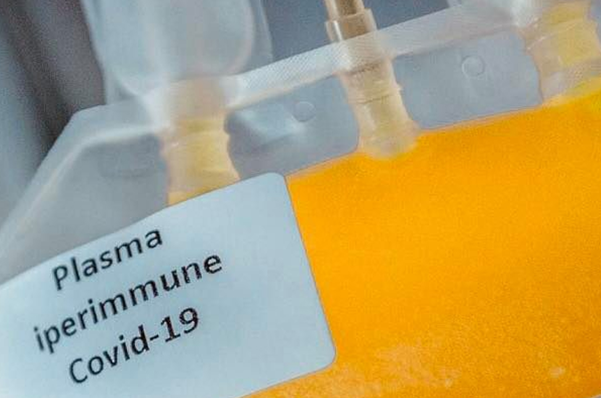 Asl Lecce, donazione plasma iperimmune