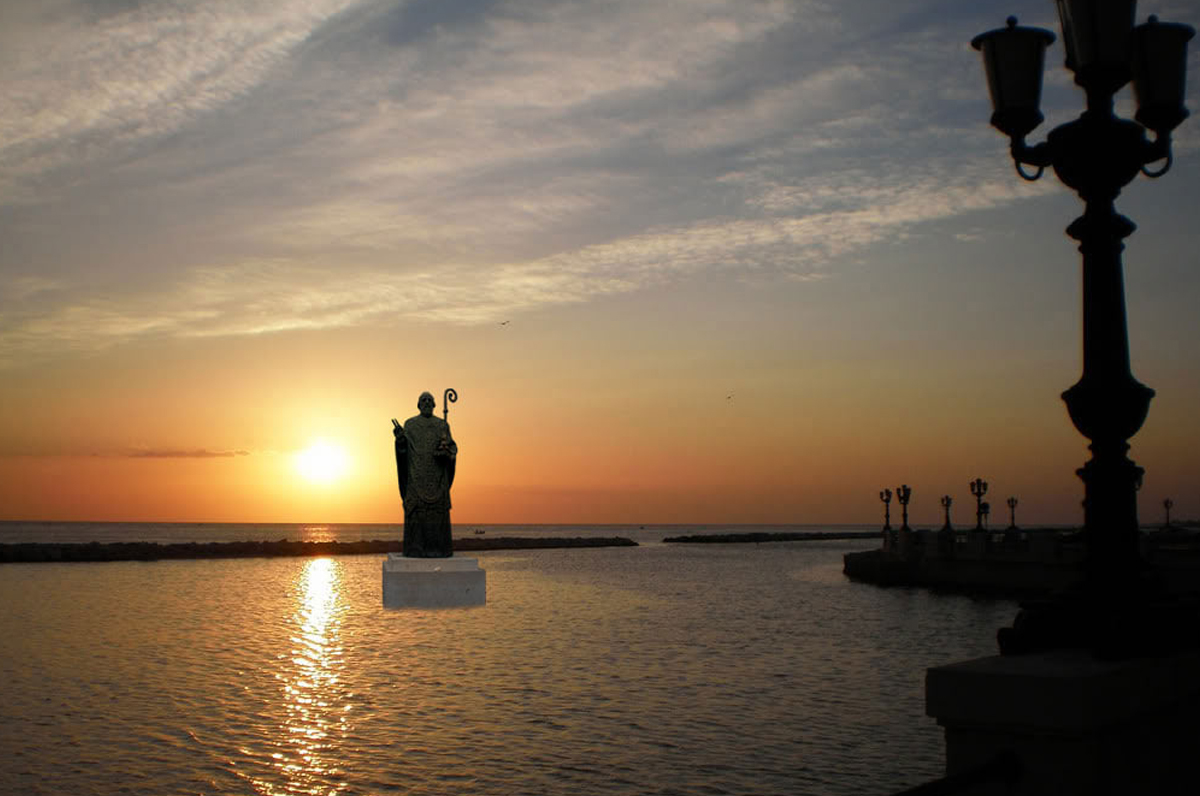 Bari potrebbe presto avere una statua in onore di San Nicola
