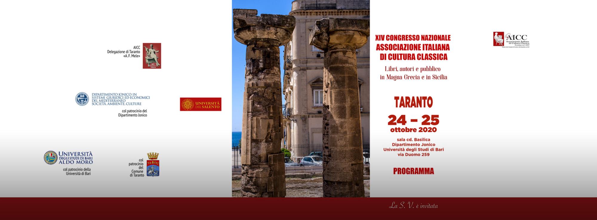 Taranto: XIV Congresso Nazionale AICC