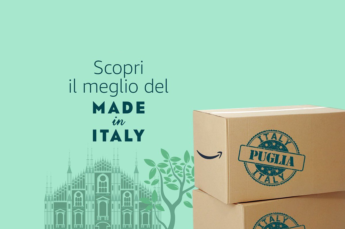 Amazon made in Italy Puglia