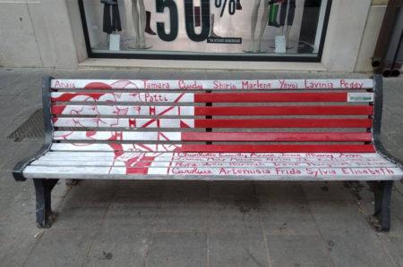 Foggia, panchine rosse nella giornata contro la violenza sulle donne