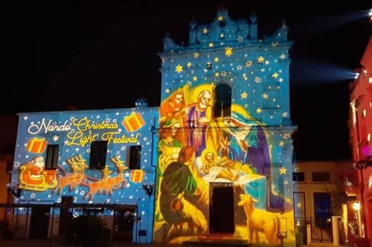 "A Nardò è già Natale con il ""Christmas Light Festival"""