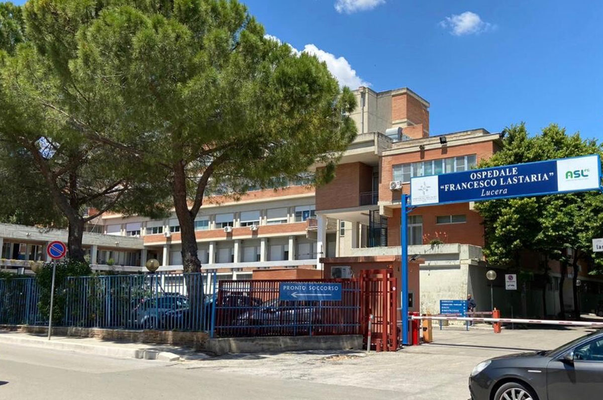 """Ospedale di Lucera, presto ci sarà la """"tenda degli abbracci"""""""