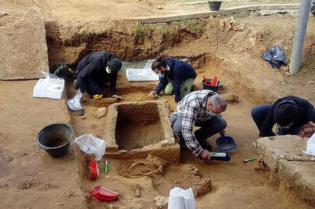 civiltà messapica in Puglia, ritrovamenti ad Alezio