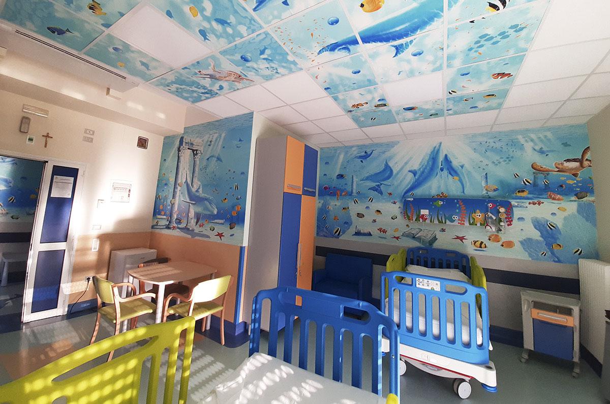 Taranto, inaugurata la scuola in ospedale