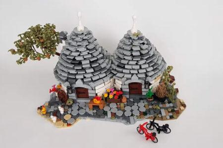 Lego, trulli di Alberobello