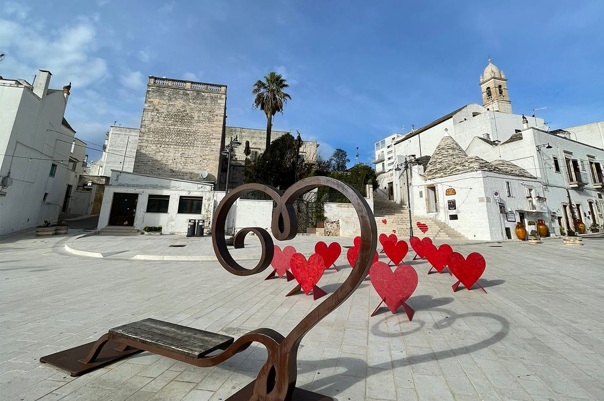 Alberobello, San Valentino 2021