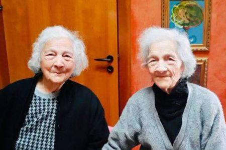 Carpignano Salentino, due gemelle compiono 100 anni