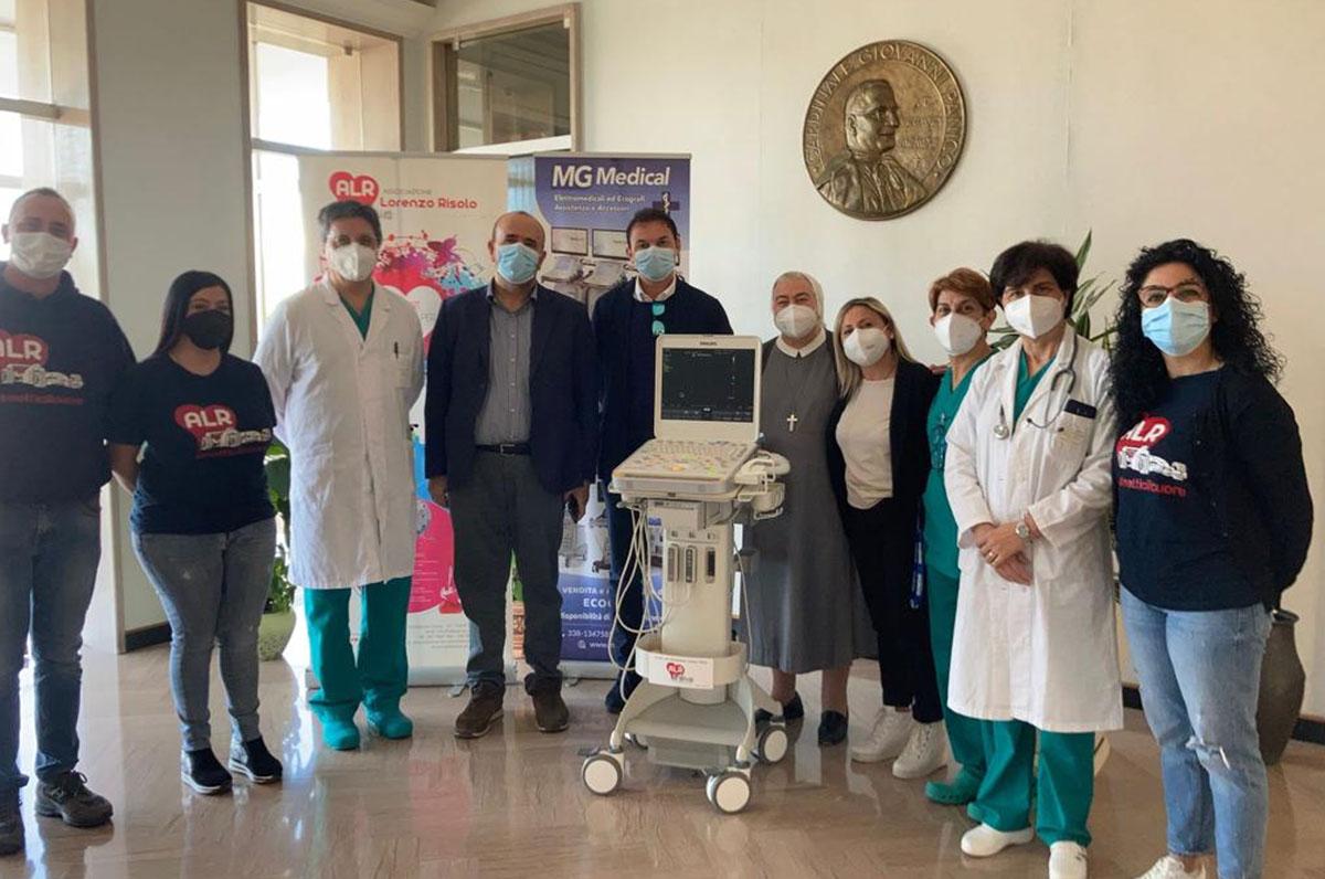 Pediatria Tricase, donato importante ecografo multidisciplinare