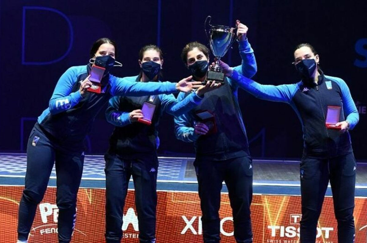 Sciabola, foggiana Criscio vince argento alla Coppa del Mondo