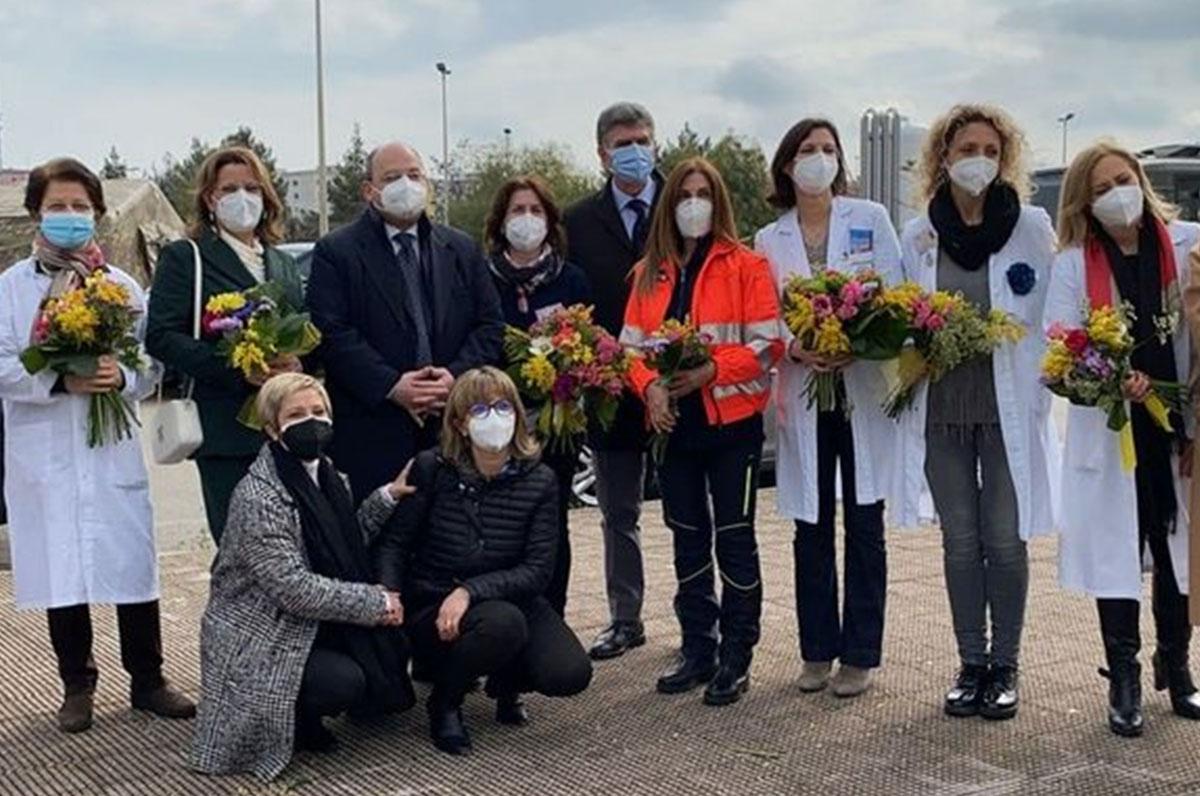 8 marzo, Barletta e Asl BT celebrano le operatrici sanitarie