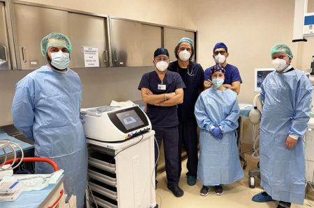 Miulli, curato tumore all'esofago con elettrochemioterapia endoscopica