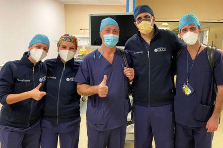 Tumore al fegato, prima operazione al mondo con paziente sveglio