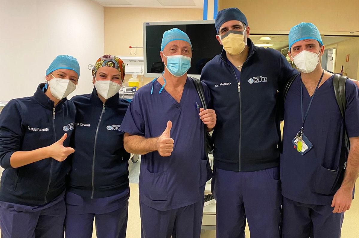 """""""Miulli"""", 1° caso al mondo di tumore rimosso con paziente sveglio"""