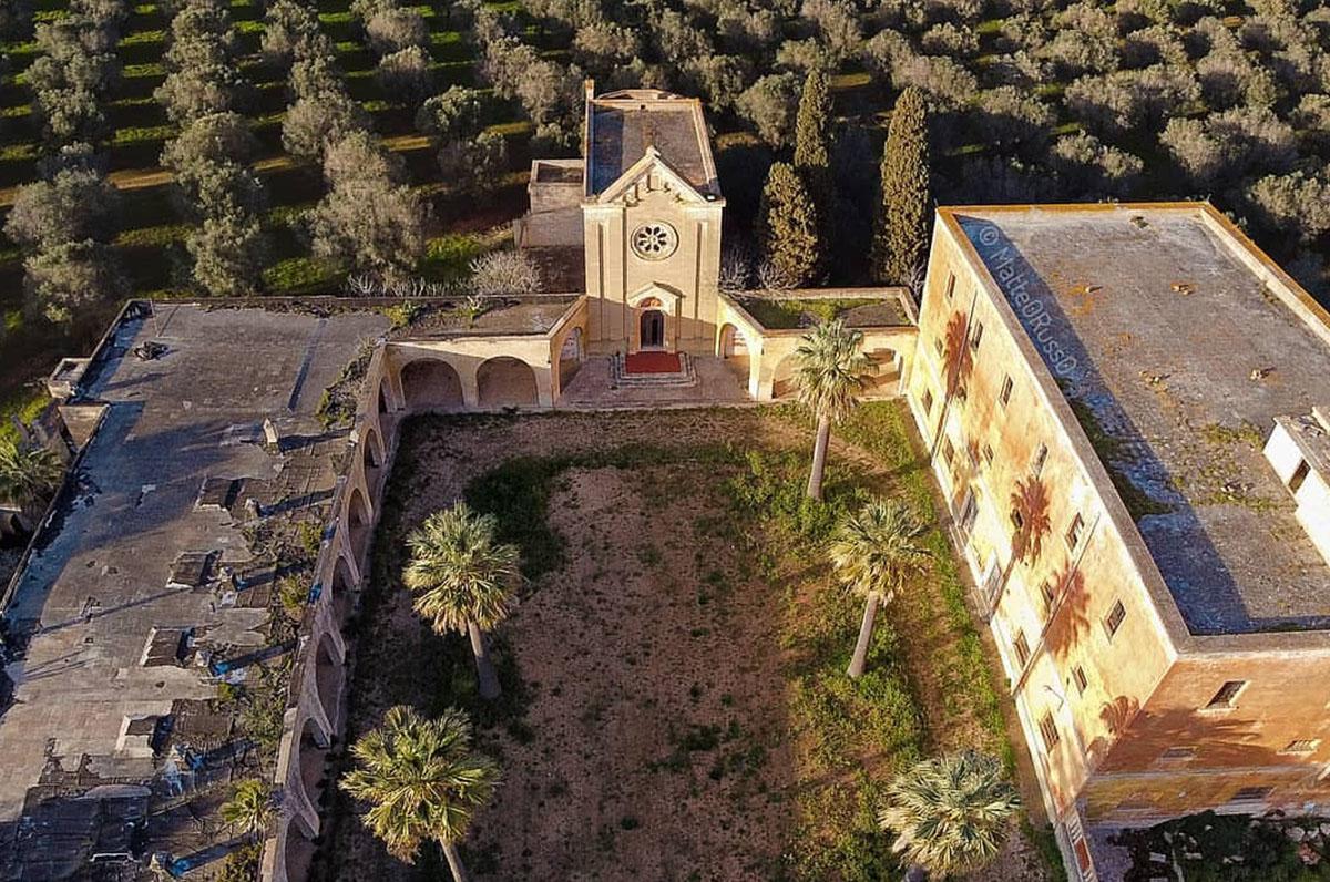 Monteruga, la città fantasma del Salento