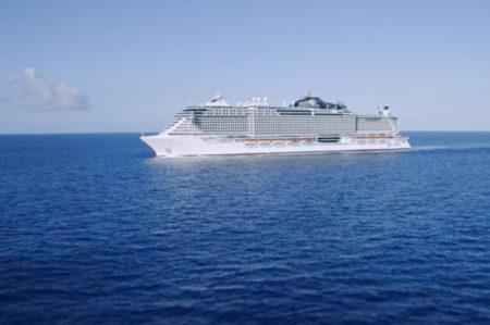 Msc seaside, da maggio 2021 scalo a Taranto