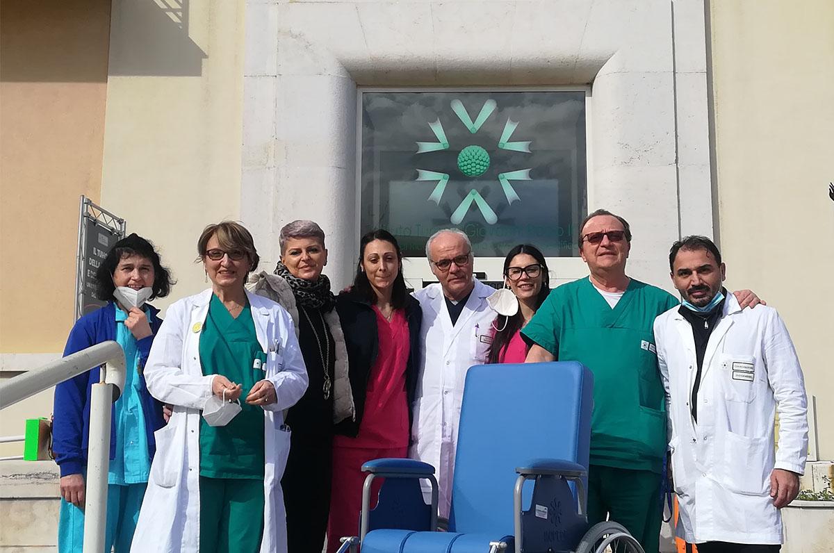 Famiglia Luongo, doni per oncologia medica a Bari
