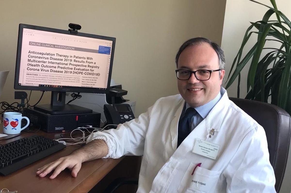 Studio anticoagulante e Covid: lo studio di Foggia