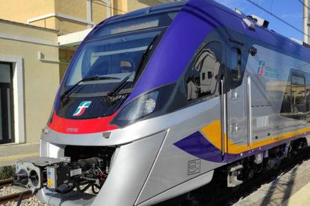 Treno elettrico, ferrovie del Sud Est