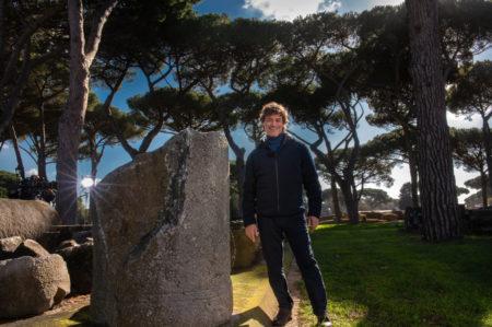 """Alberto Angela, lezione al """"Flacco"""" di Bari"""