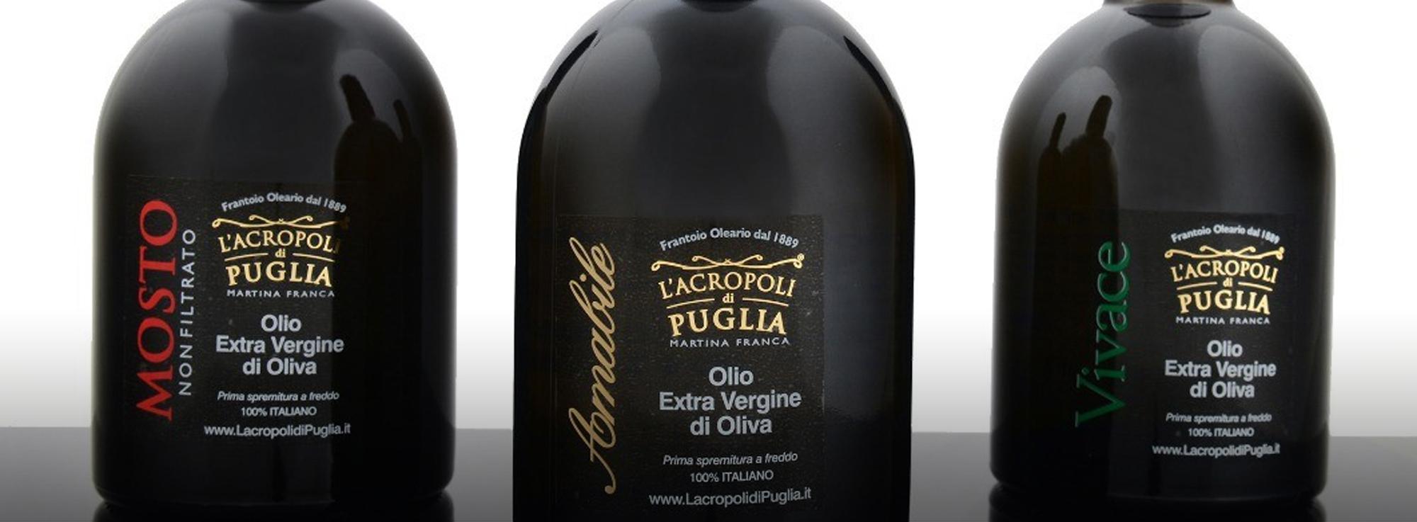"""""""L'Acropoli di Puglia"""", olio extravergine di qualità Martina Franca"""