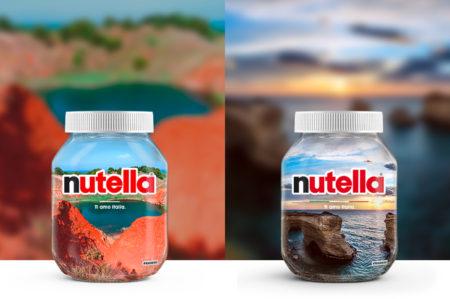 """Puglia, Nutella """"Ti amo Italia"""""""