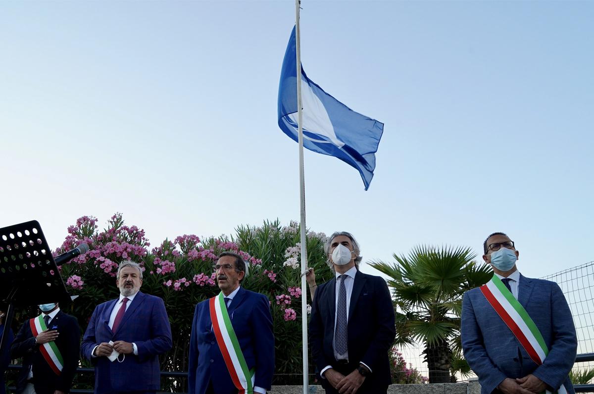Bandiera Blu di Margherita di Savoia