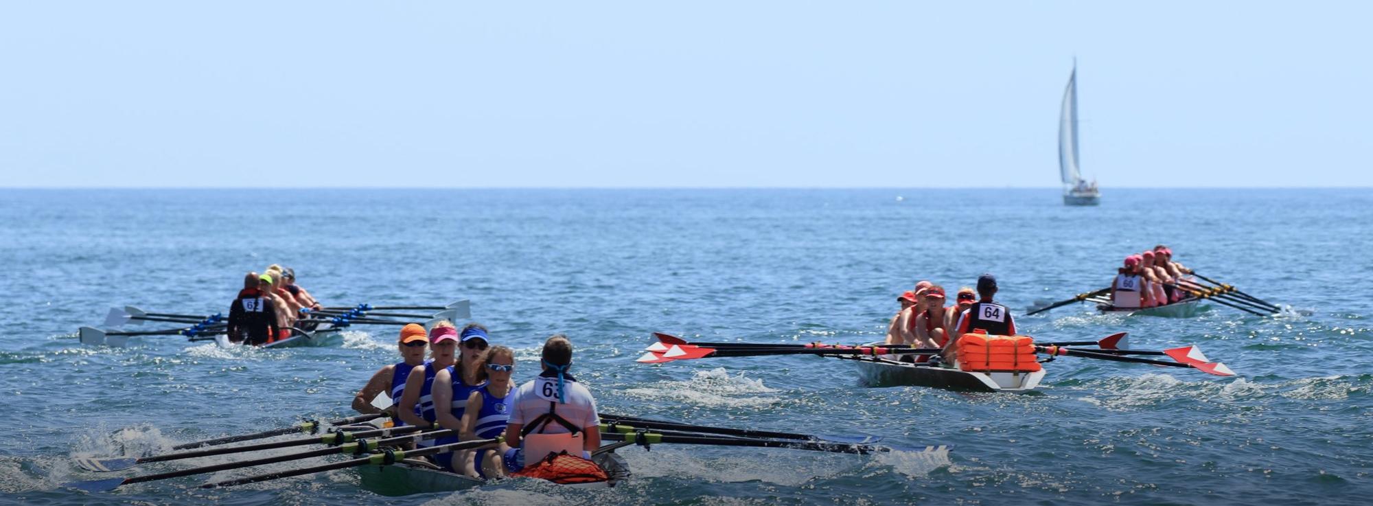 Barletta: Coastal rowing e Beach sprint