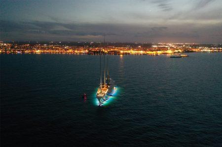 Sailing Yacht A in Puglia